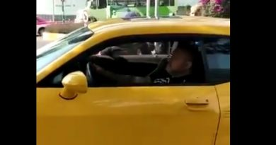 Accidente vehicular de #DavidParamo en la #cdmx ,luego lo reportaron con #derramecerebral