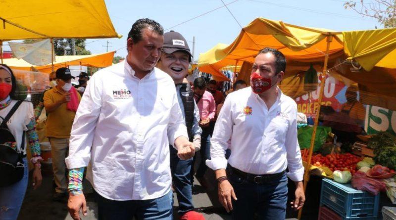Memo Valencia y Carlos Herrera