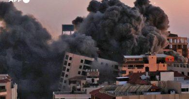 Suman al menos 30 muertos mientras escala la violencia entre fuerzas de Israel y Hamas