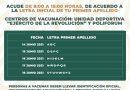 Este lunes inicia aplicación de segunda dosis a personas de 50 a 59 años en Morelia