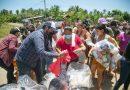 Familias afectadas por lluvias recibieron 50 toneladas de víveres: Grisel Tello